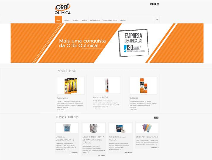 Site Orbi Quimica