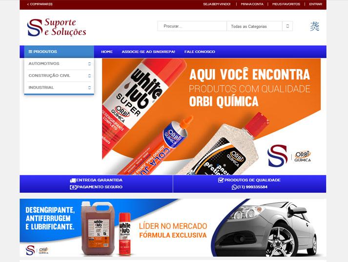 E-commerce Suporte e Soluções