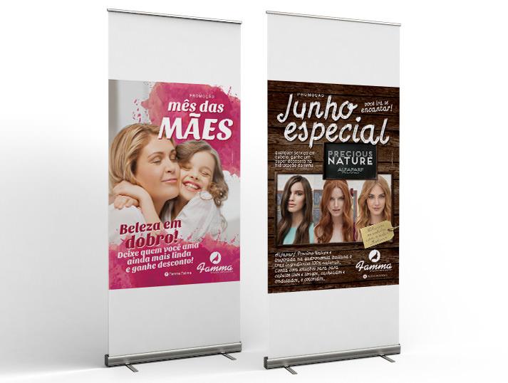 cartazes Salão Famma