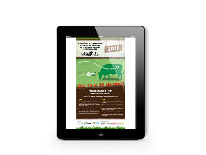 E-mail Marketing - V Simpósio Ruminantes