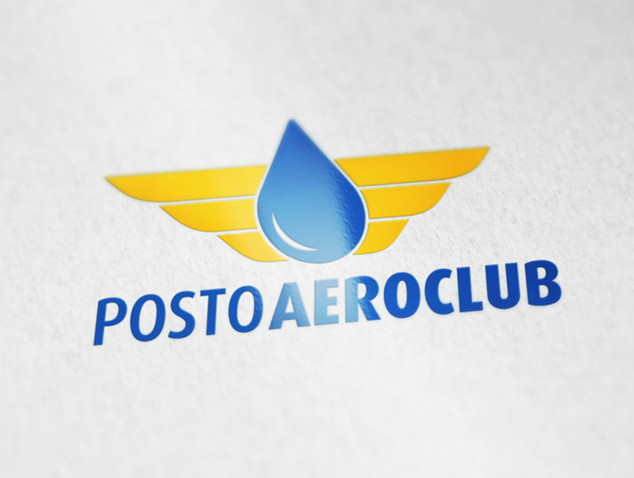 novo logotipo Posto Aeroclube