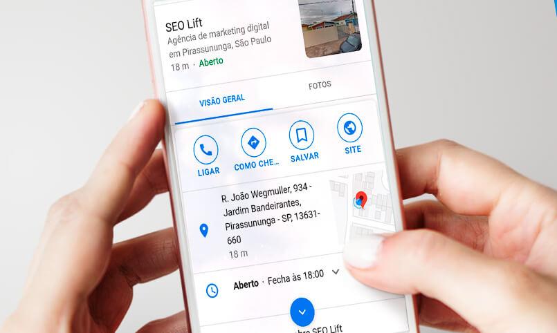 Google meu negócio - 5D Publicidade